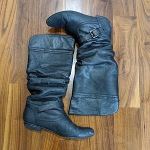 Steve Madden leather riding boots